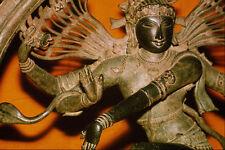 584045 Bronze Figure Of The Dancing God Shiva India A4 Photo Print