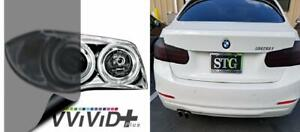 "New 10ft x 60/"" medium shade smoke taillight or headlight pvc film cover overlay"