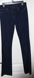 JOE-039-S-JEANS-dark-blue-high-waist-stretch-denim-Skinny-flare-JEANS-27-31-x-35-L-T