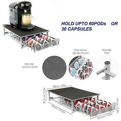 Coffee Machine Stand Pod Capsule Storage Drawer Holder