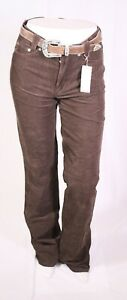 MJ3-54 MAC Gladis Cord Jeans Damen Hose braun Gr. 36 L32 Bootcut High Waist NEU