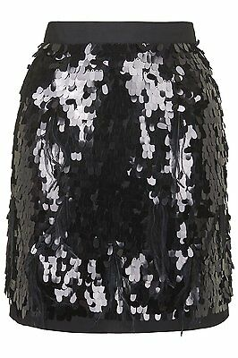 Well-Educated Bnwt Topshop Petite Limited Edition Black Sequin Feather Skirt Size 4 rrp £95 Keep You Fit All The Time Skirts Clothing, Shoes & Accessories