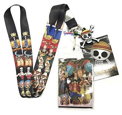 **Legit Poster** One Piece Straw Hat Pirates Skull Roger Logo Wallscroll #5216