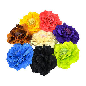 Wholesale-Lady-Peony-Flower-Brooch-Clip-Pin-Bridal-Party-Hair-Holder-Headdress