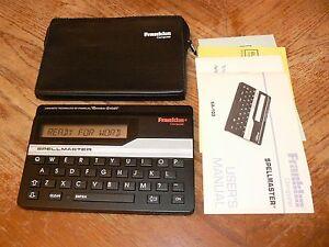 Franklin Model SA-103 Electronic Spellmaster 1988 Vintage Zilog Z80