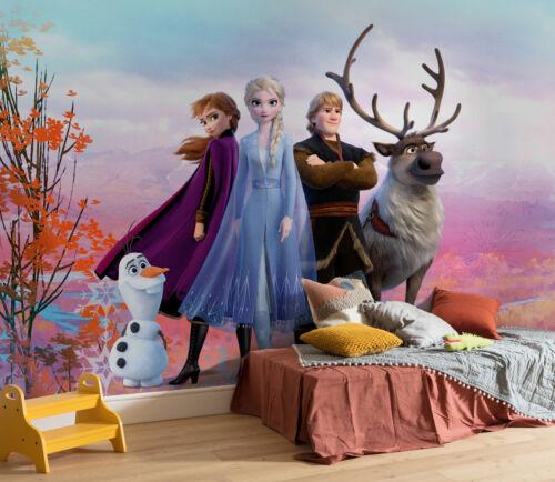 Iconic Größe 368x254 cm 8-teilige Fototapete Wallpaper Frozen 2
