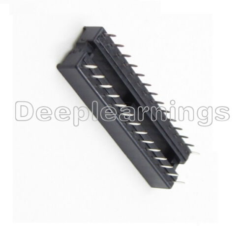 50PCS 28-Pin 28P Narrow DIP IC Sockets Adaptor Solder Type Socket 2.54mm Pitch