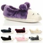 516227c08fdfb Womens Ladies Bright Faux Fur Sloppee Slippers Super Soft Comfy Size ...