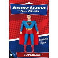 Superman Bendable Posable Super Hero Tv Dc Comics Toy Action Figure Bendy