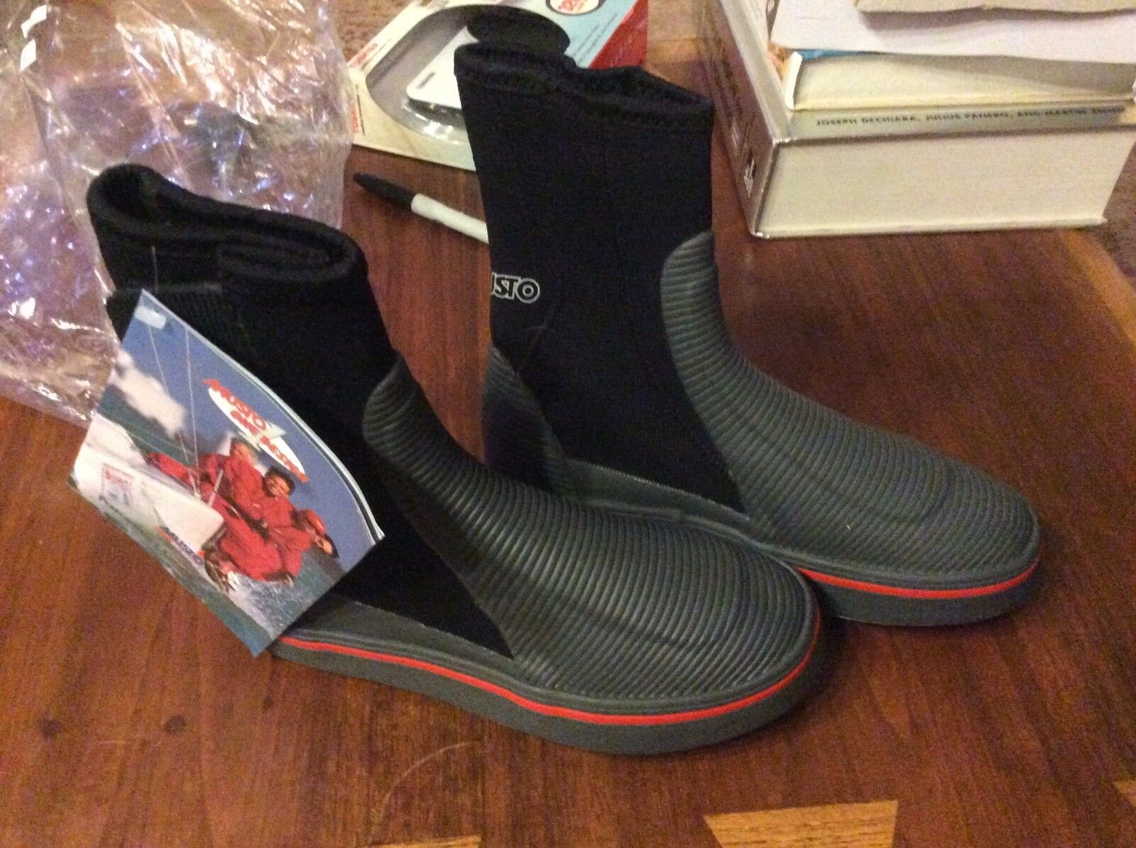 MUSTO M3 NEOPRENE OCEAN SAILING  BOOTS -Size 37 38 -Brand New in Box Discontinued  with 60% off discount
