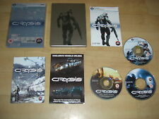 CRYSIS 1 Special Limited Edition in Tin Case Steelbook  Pc DVD Rom  FAST POST
