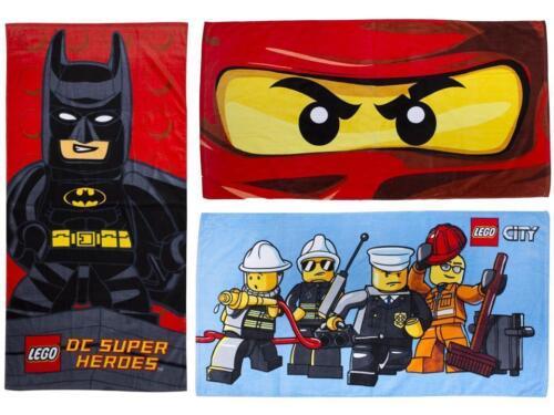 Lego Dc Superheld Kapow Batman Ninjago Ösen Stadt-Helden Kinder Handtücher