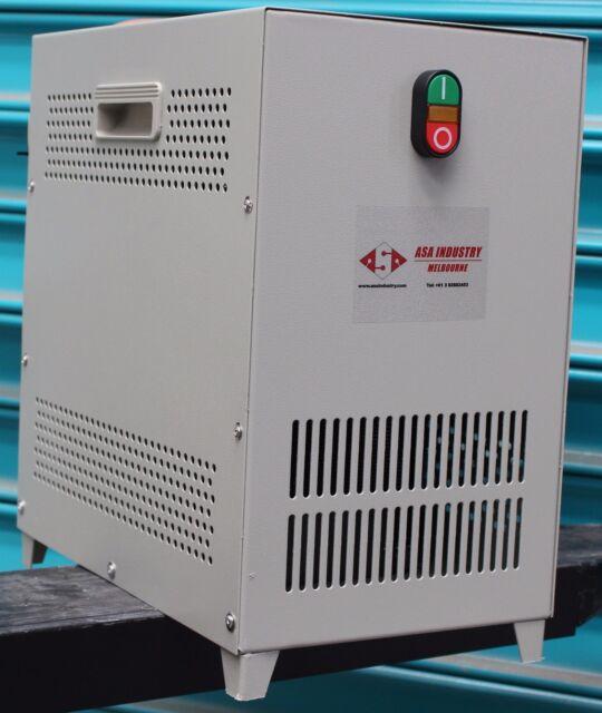 5 KVA - ASA -  Rotary phase converter 240V Single Phase to Three Phase 415V