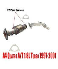 Front Converter and Extension Pipe for Audi A4 Quatro A/T 1.8L Turbo 1997-2001