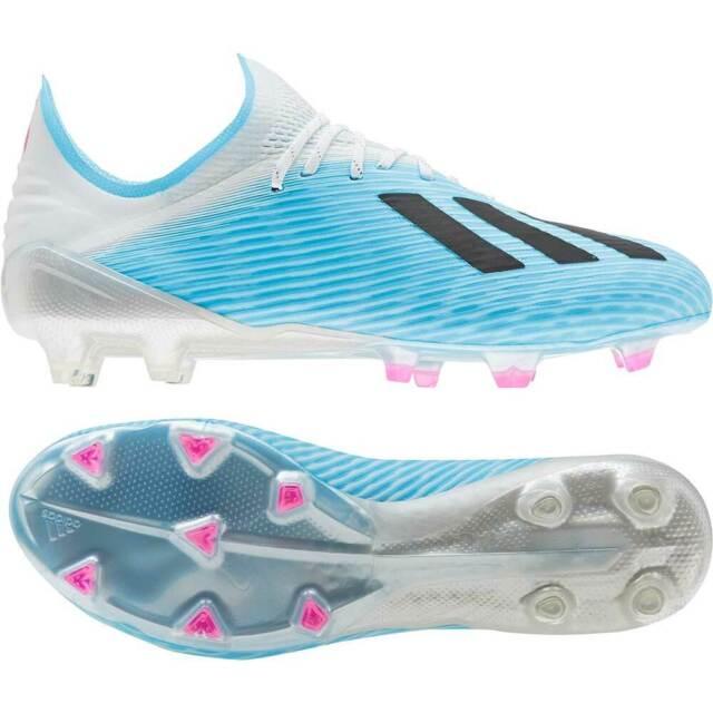 adidas X 19.1 FG Sohle Herren Fußballschuh F35316 blau schwarz weiß