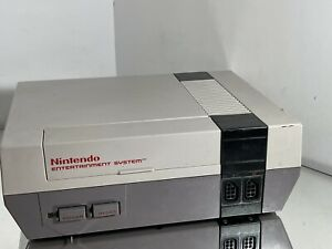 Original Nintendo NES-001 Entertainment System Console Only As IS Parts/Repair