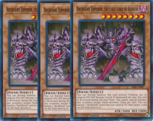 1st Edition Lightly Played YuGiOh Trance Archfiend Common ORCS-EN035