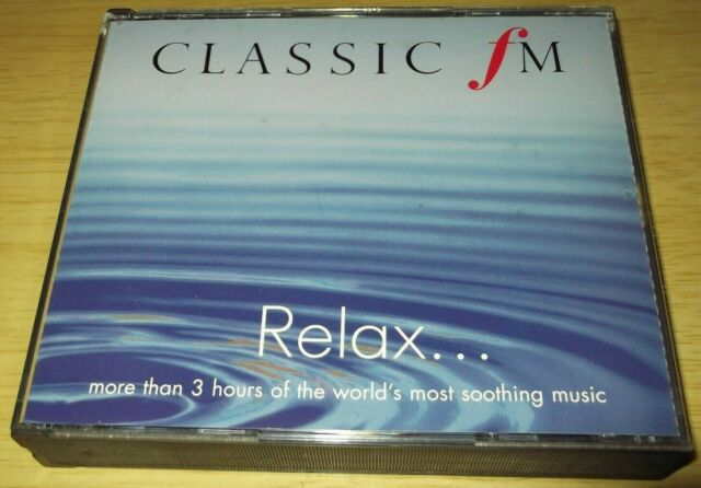 Classic Fm:Relax - Various Artists (1999 Triple CD Album)
