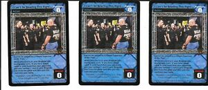 3X Diversion *FREE SHIPPING* RARE Action Stacy Keibler WWE RAW DEAL