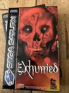 Exhumed Sega Saturn. Complete. PAL