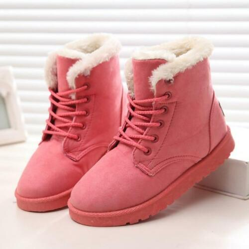 2020 Fashion Winter Fur Lined Snow Boots