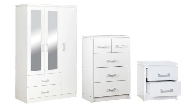 Charles Bedroom Range White