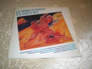 LA-TERRA-E-GIALLA-E-IL-CIELO-BLU-VINYL-ITALY-SAMPLER-VENDETTI-NANNINI-RAR