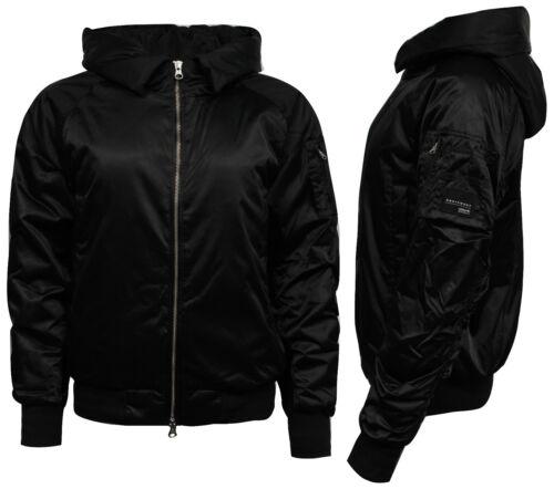 Adidas Originals EQT ADV Womens Hooded Bomber Jacket Black BK2272 OPM1