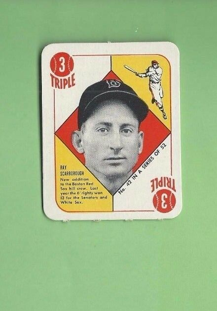 Buy 1951 Topps Ray Scarborough 42 Baseball Card Online