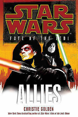 1 of 1 - Star Wars: Fate of the Jedi - Allies, By Golden, Christie,in Used but Acceptable