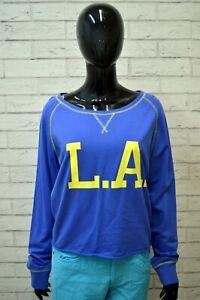 Maglia-Blusa-Blu-Donna-1982-Taglia-2XL-Maglietta-Shirt-Woman-Camicia-Manica-3-4