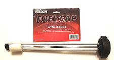 """Gas Cap Fuel Gauge Skidoo Ski doo Snowmobiles Kelch 12.5"""""""