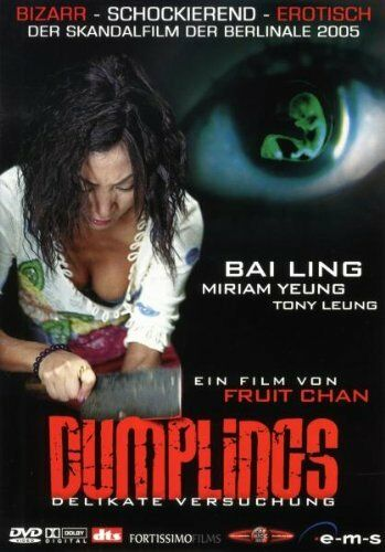 DUMPLINGS - Delikate Versuchung I DVD I Fruit Chan - SKANDALFILM 2005 - TOP