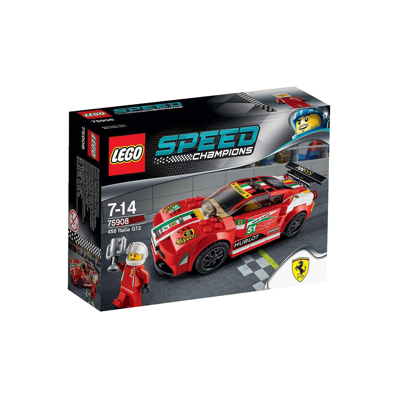 LEGO-75908-SPEED CHAMPIONS-FERRARI 458 Italia GT2-NISB-RetiROT Product