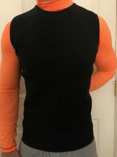 Men's 2mm Wetsuit Vest Pullover Warmth /& Mobility Size: Large,Sale