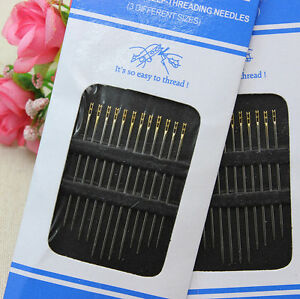 24Pcs-Needles-Self-Threading-Thread-Home-Tools-Pins-Assorted-Hand-Stitches-DIY