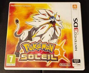 JEU 3DS POKEMON SOLEIL nintendo 3ds FRANCAIS