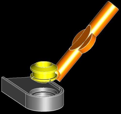 Titan Transmission Shift Cable Repair Kit w// bushing Easy Install