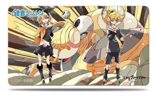 HATSUNE MIKU Game Card Playmat Ultra Pro #84500 KAGAMINE RIN//LEN Play Mat