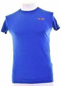 Hollister-Hombre-Camiseta-Top-en-Azul-IE09