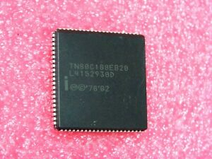 ci TN 80C188 EB 20 / TN80C188EB20 ~ 16-Bit processor with 8-bit I/O ports 20MHz