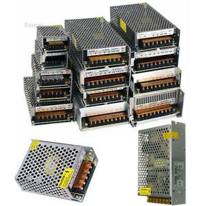 100V-240V Pour 5V 12V 24V Interrupteur Alimentation Conducteur Adaptateur Clair/