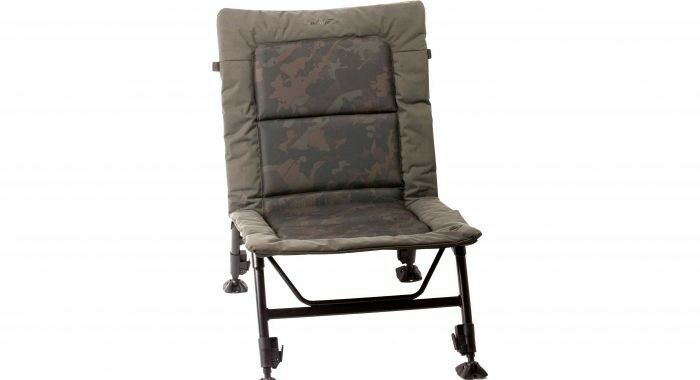Nash Indulgence ultra Lite camo Chair t9726 karpfenstuhl angel silla silla