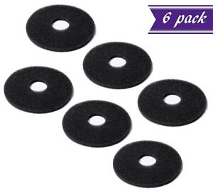 (Pack of 6) Replacement Sponges for Bar Glass Rimmer / Margarita Salter