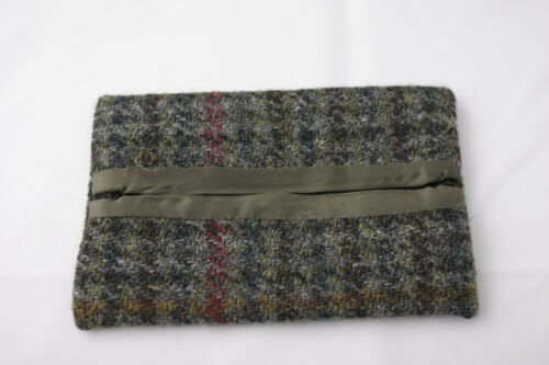 Callabus Andra ~ HARRIS TWEED ~ pocket tissue holder Made in Scotland 100/% wool