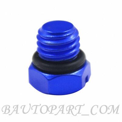 Blue Billet Aluminum Bleeder Screw fits Chevy Duramax 2001-2017 Diesel