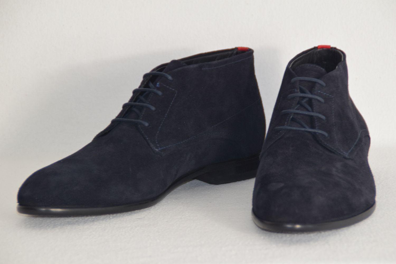 HUGO BOSS DESERT Stiefel, Mod.Dresssap u deckungsgleich, Gr. 42, UK 8, US 9, Dark Blau