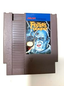 Fester-039-s-Quest-ORIGINAL-NINTENDO-NES-GAME-Tested-Working-amp-Authentic