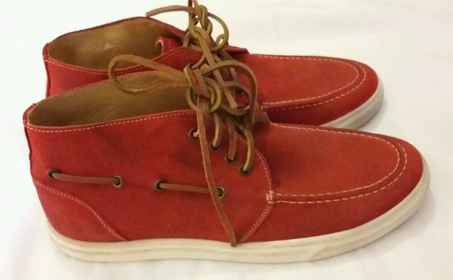 Mannersache Mannersache Mannersache by Liebeskind rot Suede leather casual schuhe UK 9 EU 43   |  | Großer Verkauf  59b3b2