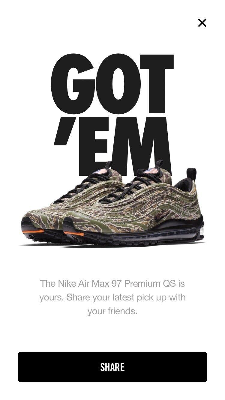 Nike Air Max 97 Premium (International Air) Size 11.5